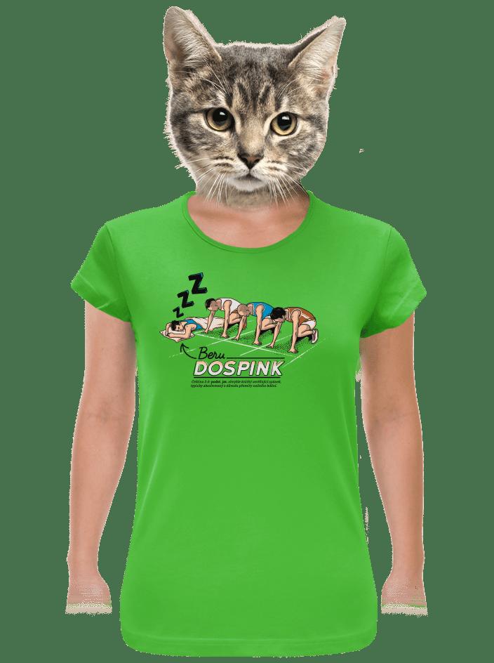 Dospink dámske tričko