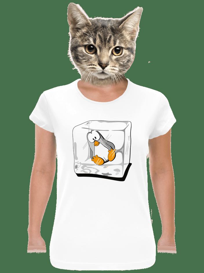 Tučniak dámske tričko