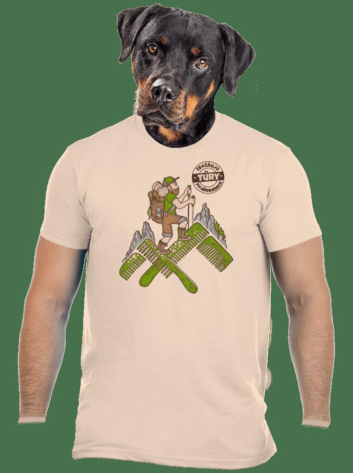 Turista pánske tričko