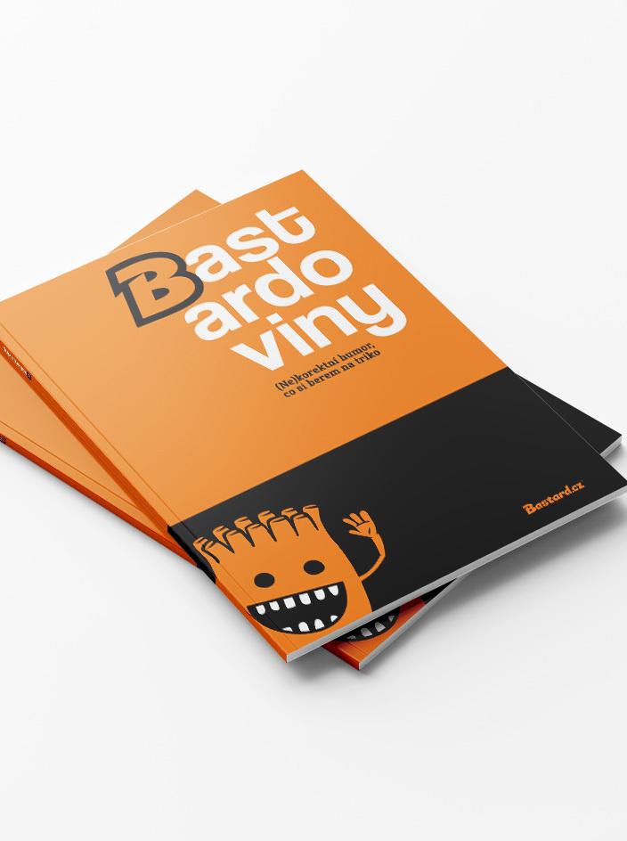 Bastardoviny - knižka kreslených vtipov
