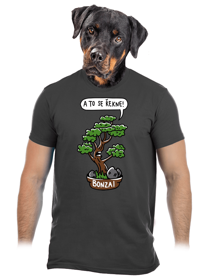 Bonzai pánske tričko
