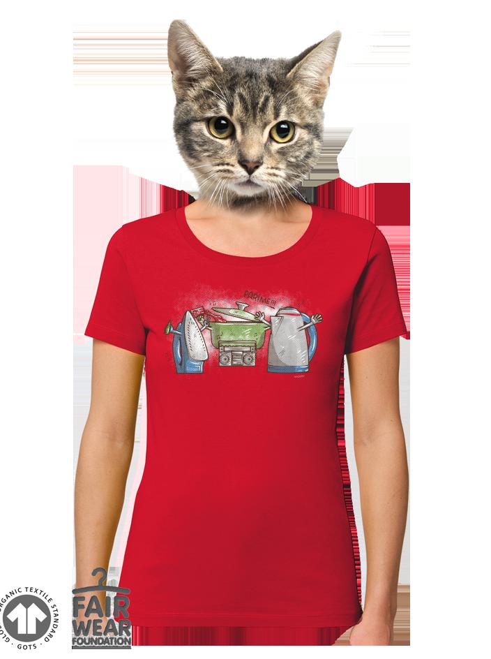 Paríme dámske BIO tričko