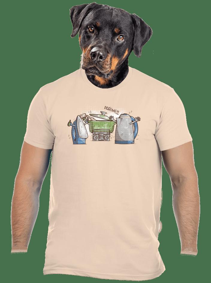 Paríme pánske tričko