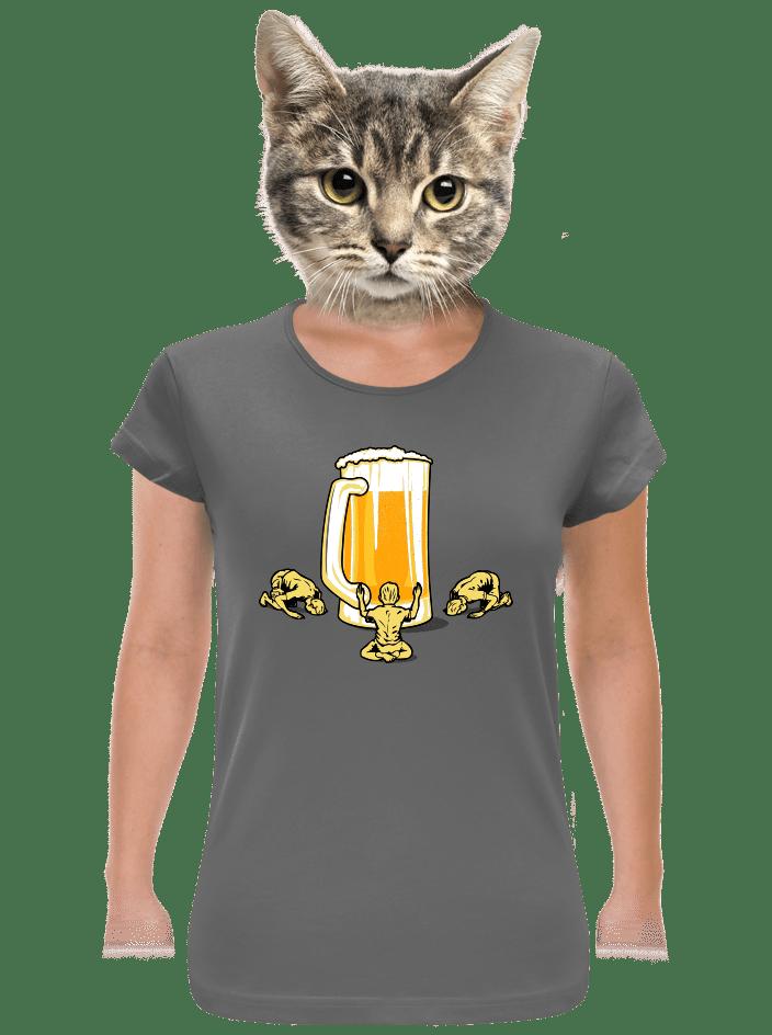 Piviště dámske tričko