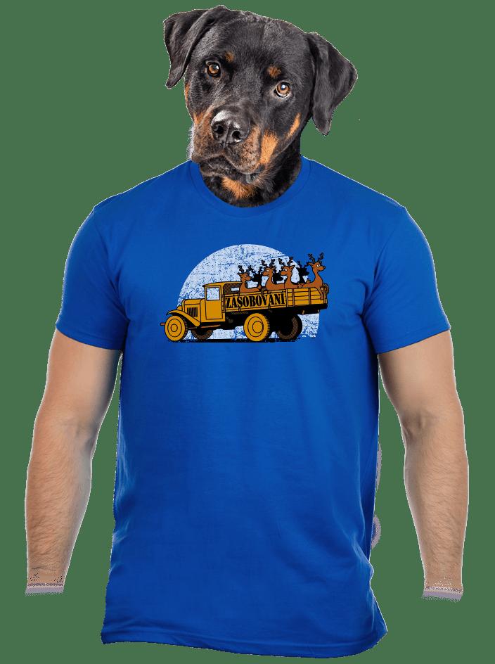 Zásobování pánske tričko