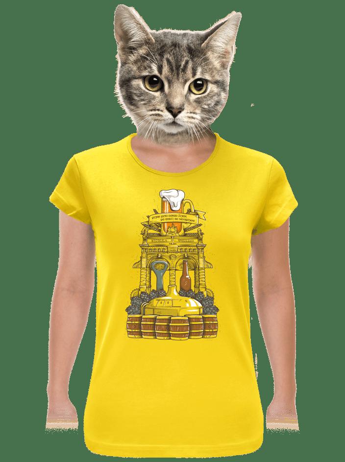 Pivní oltár dámske tričko