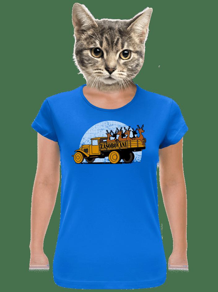 Zásobování dámske tričko
