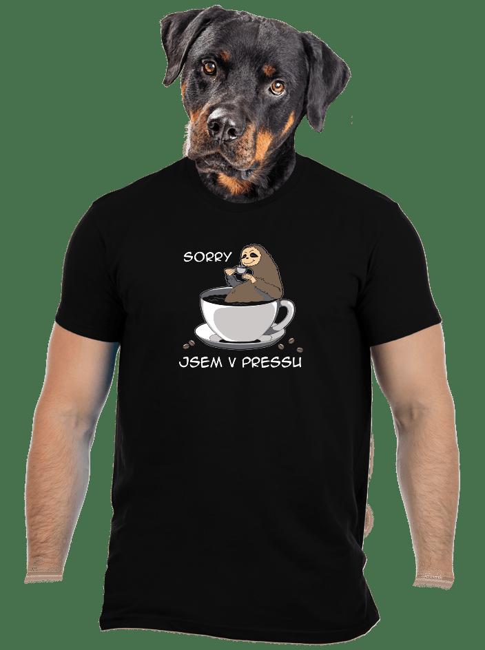 V pressu pánske tričko