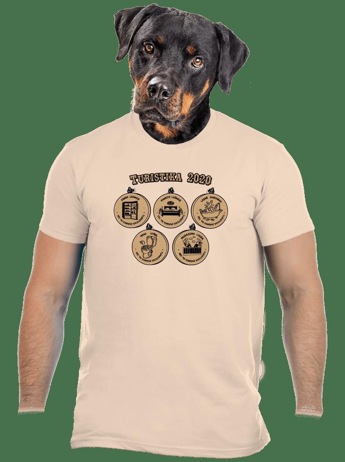 Turistika 2020 pánske tričko