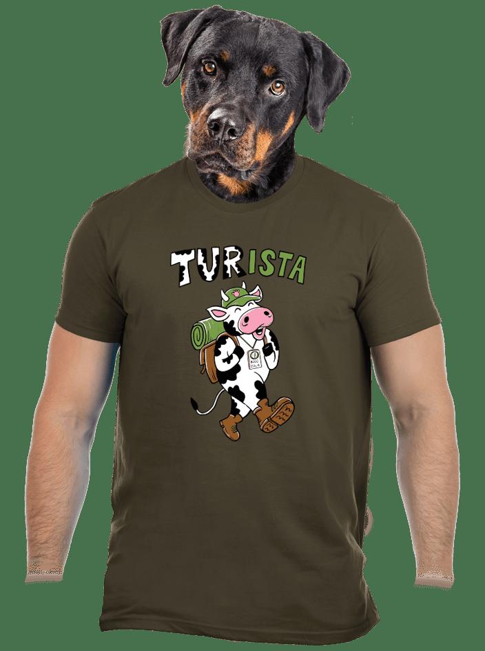 Tur na cestách pánske tričko