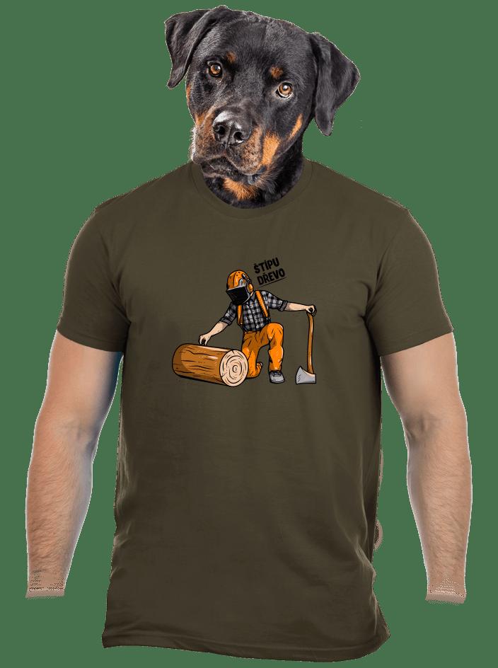 Dřevorubec pánske tričko
