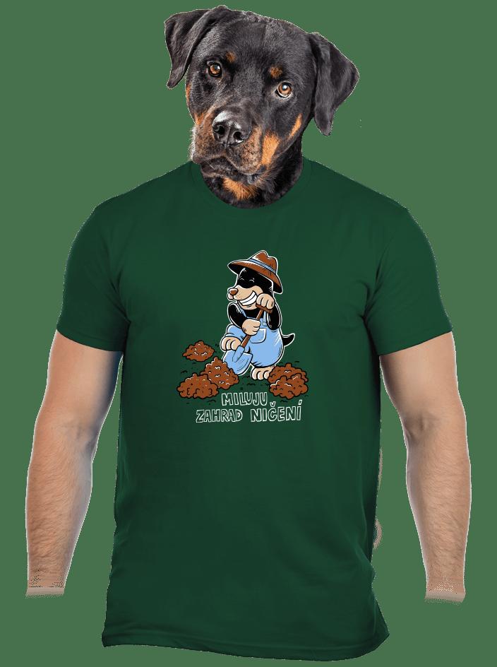 Krtek zahradník pánske tričko