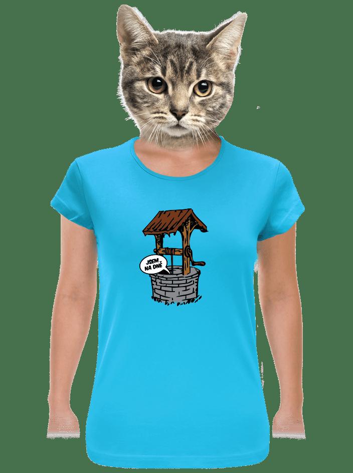Na dně dámske tričko