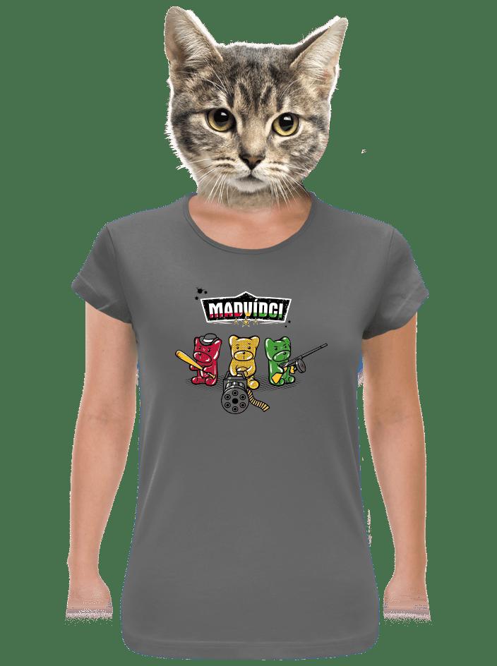 Madvídci dámske tričko