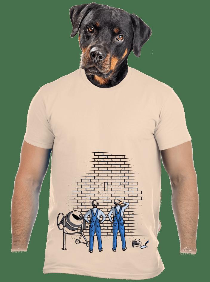 Zedníci sand pánske tričko