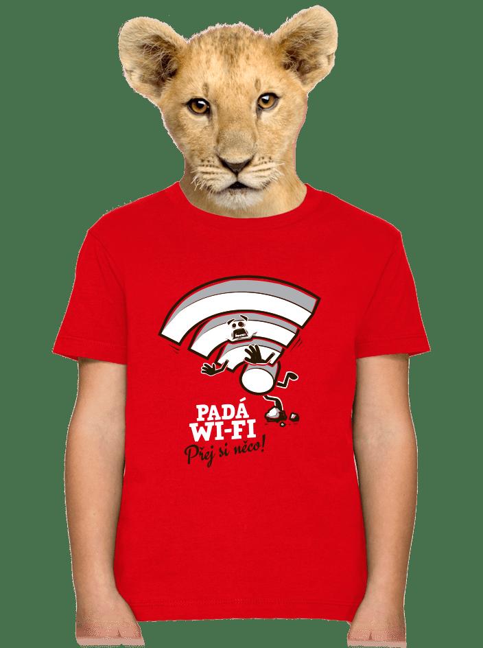 Padá wi-fi detské tričko