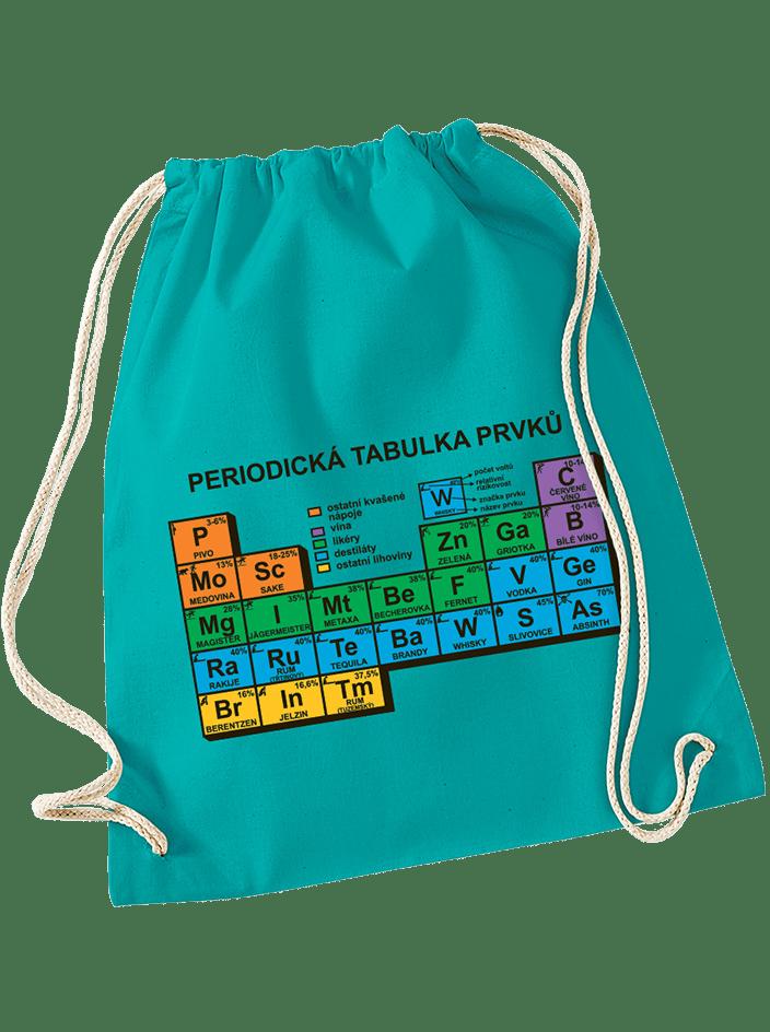 Periodická tabulka vak na chrbát