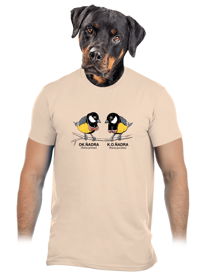 Koňadra pánske tričko