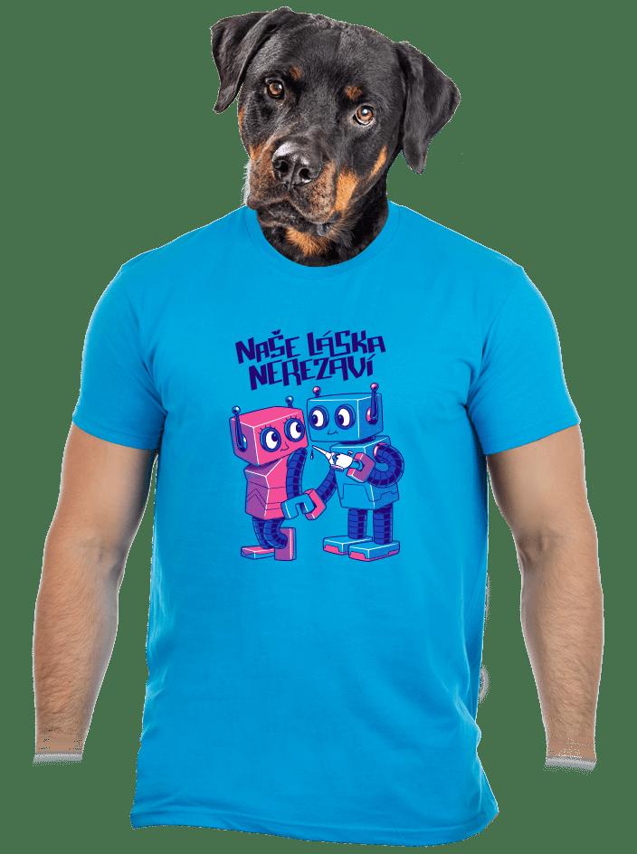 Roboti pánske tričko