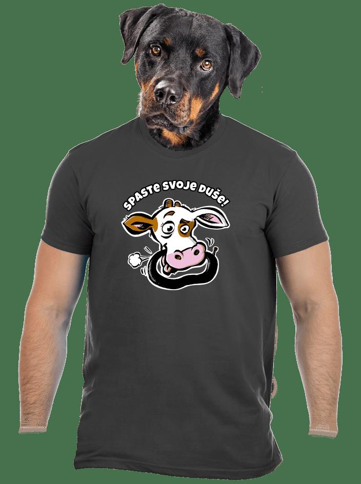 Spaste svoje duše pánske tričko
