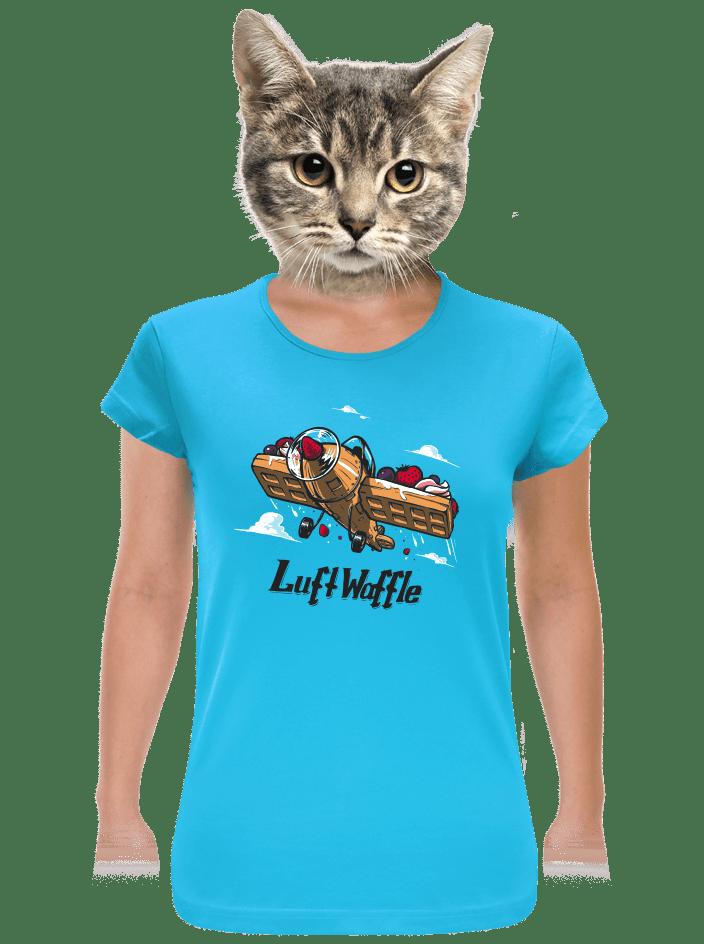 Luftwaffle dámske tričko