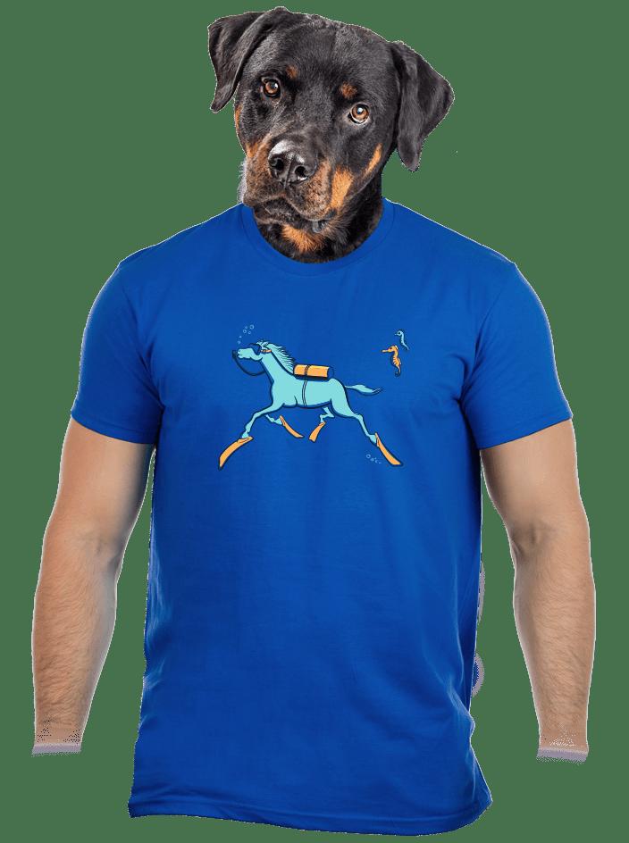 Mořský koník pánske tričko