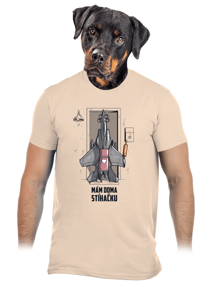 Stíhačka pánske tričko