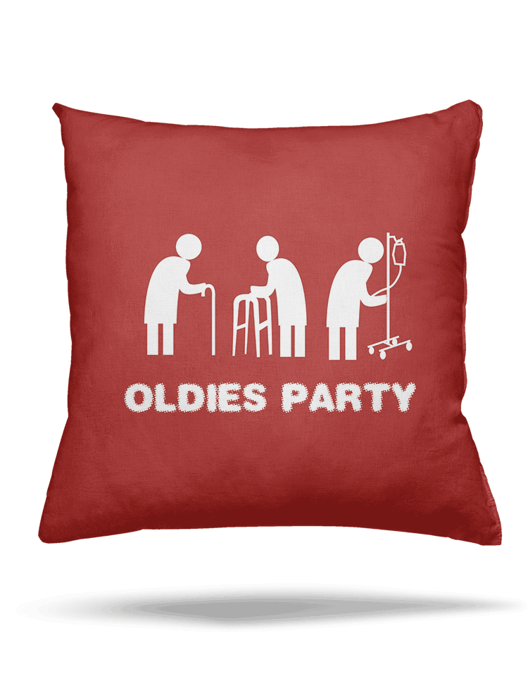 Oldies party vankúš