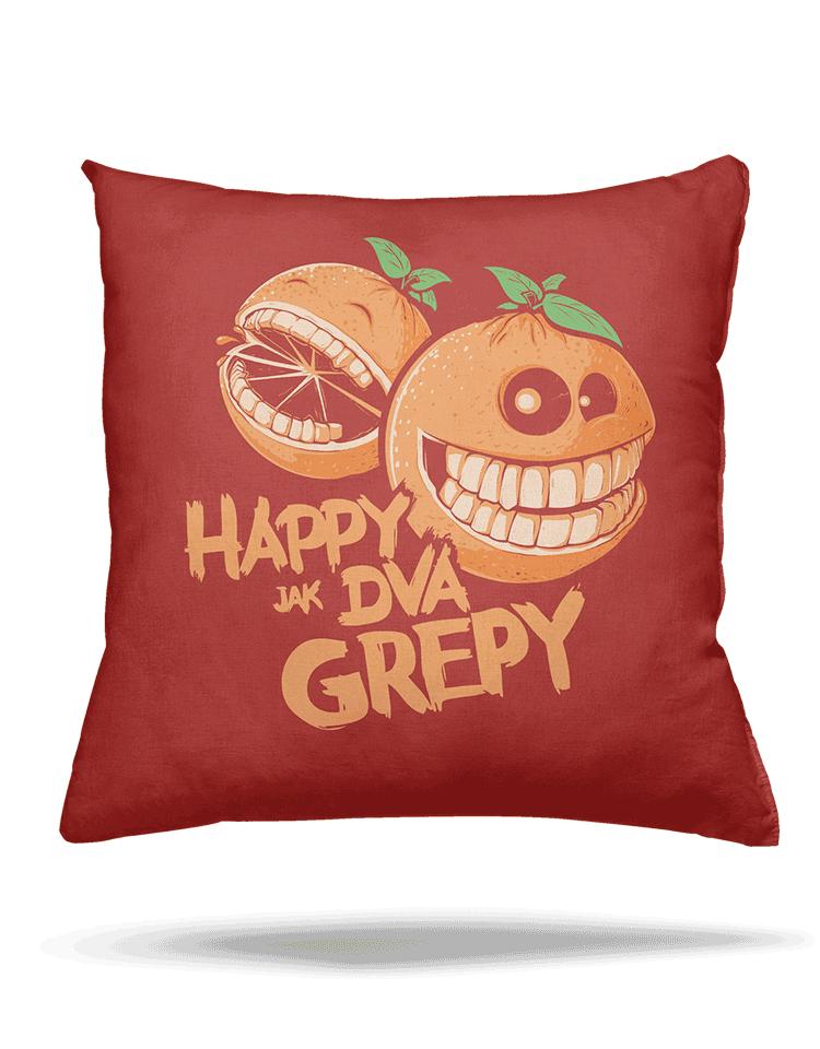Happy grepy vankúš