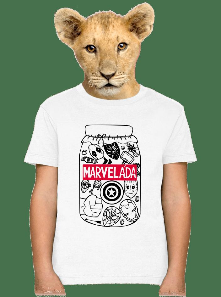 Marveláda detské tričko
