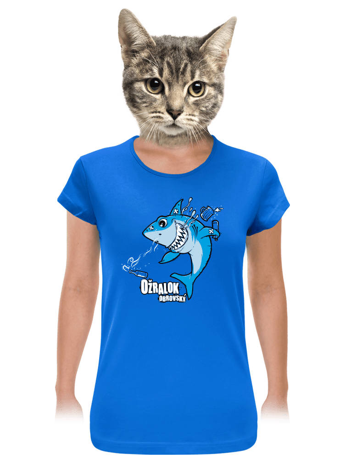 Ožralok dámske tričko
