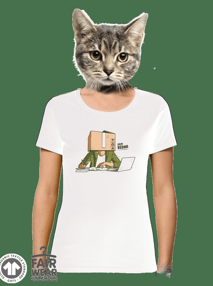 Jsem bedna dámske BIO tričko