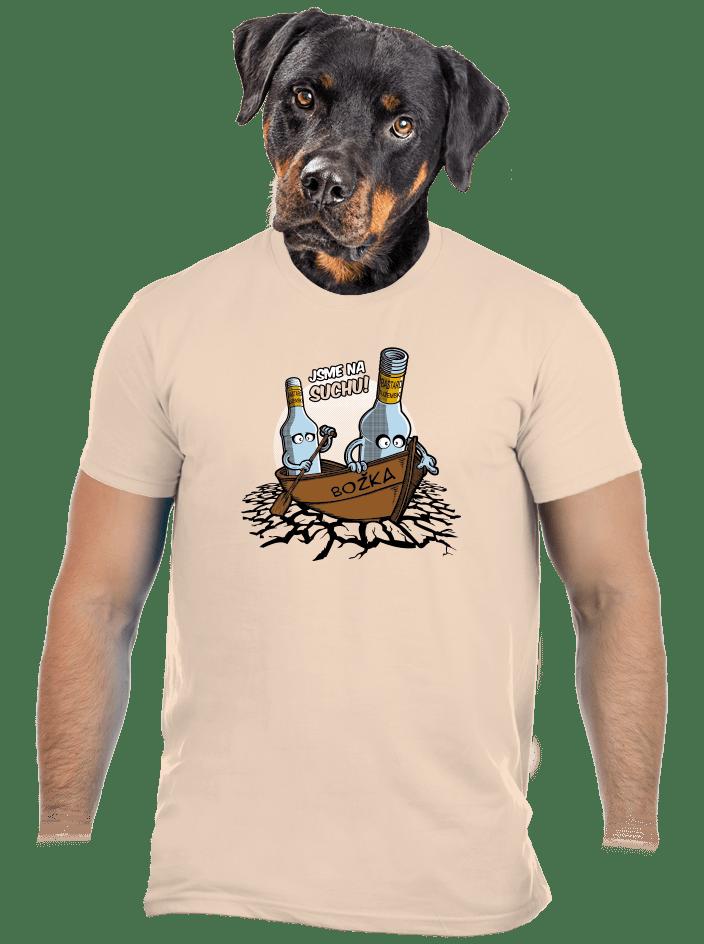 Na suchu pánske tričko