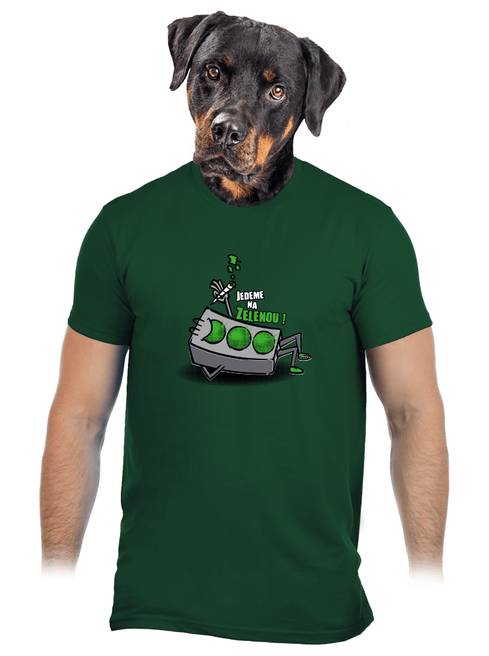 Na zelenou pánske tričko