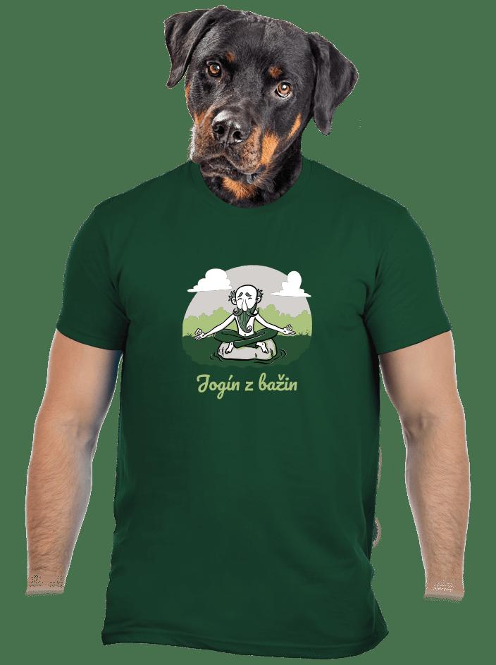 Jogín z bažin pánske tričko
