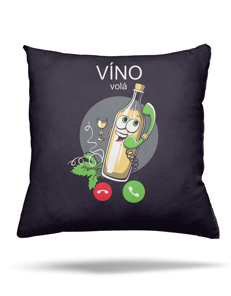 Víno volá vankúš