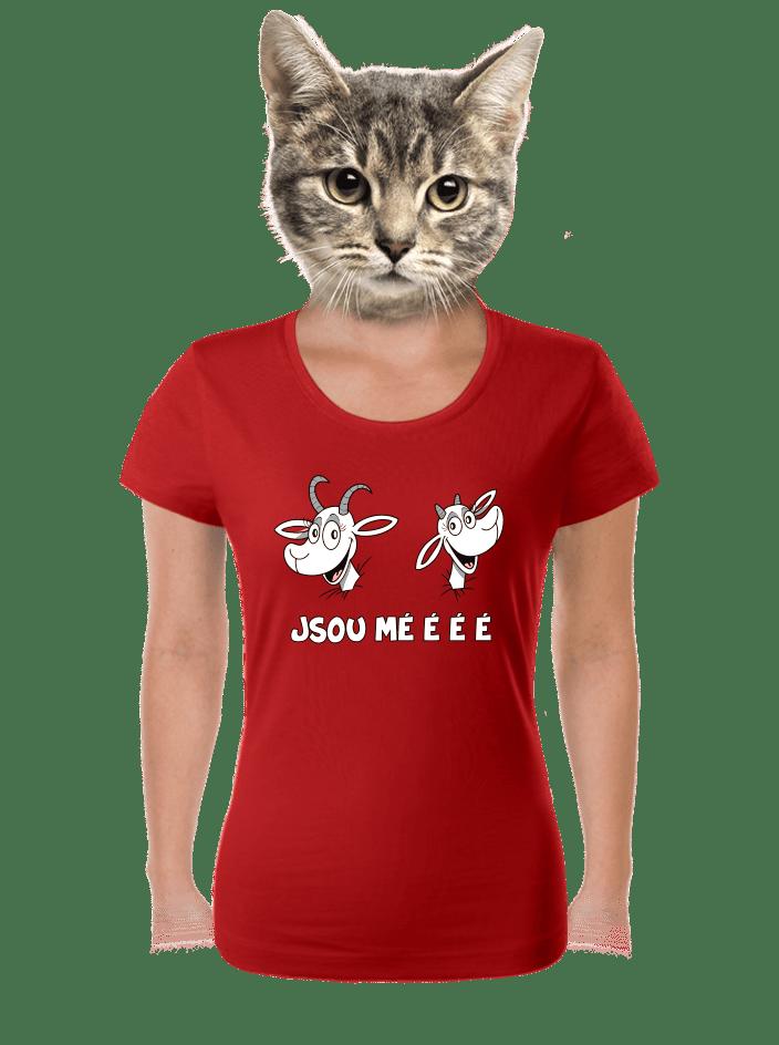 Kozy červené dámske tričko