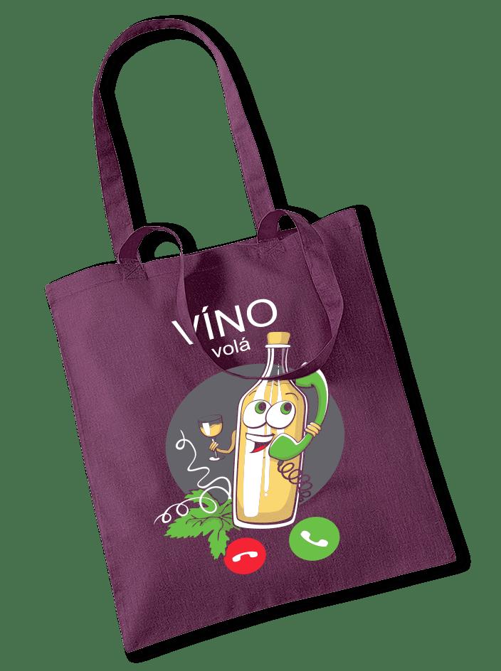 Biele víno volá taška