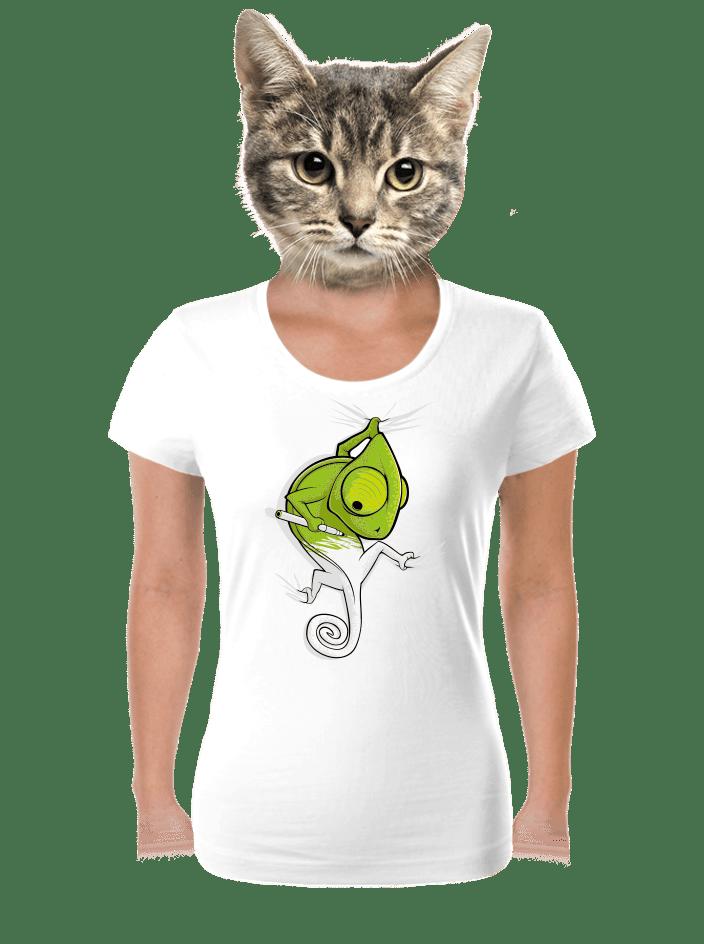 Zmizík biele dámske tričko