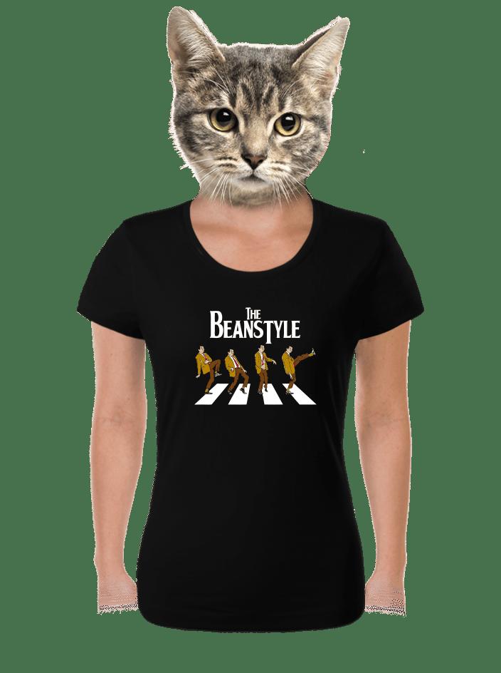 Beanstyle čierne dámske tričko
