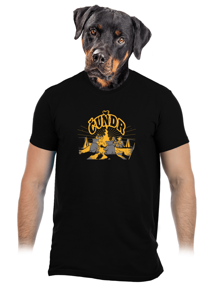Čuňdr pánske tričko
