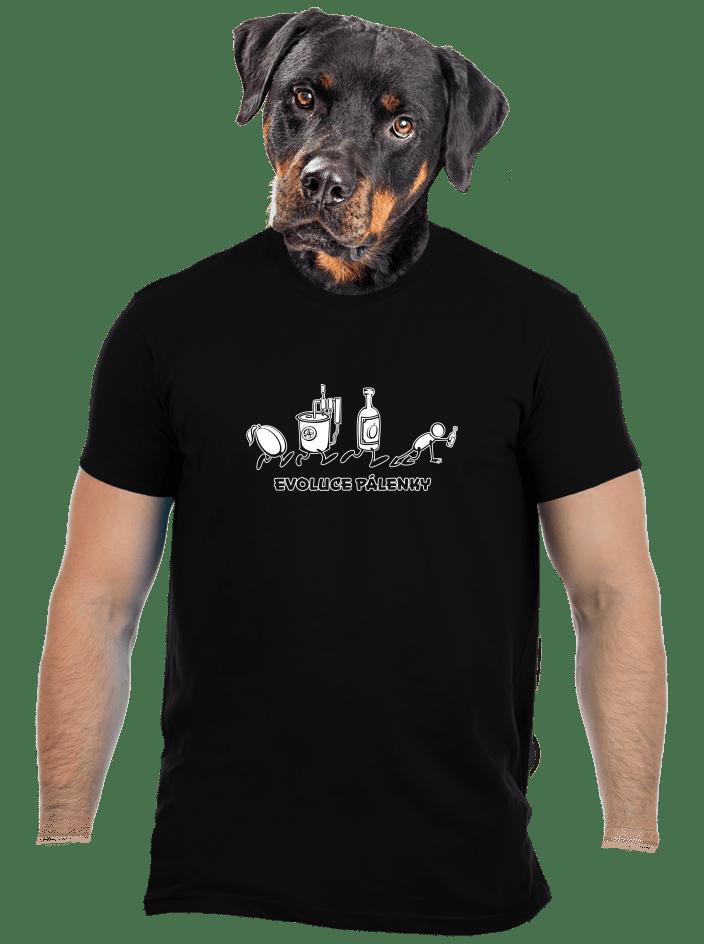Evoluce pálenky pánske tričko