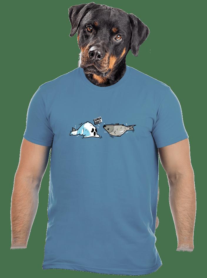 Zľakla ryba pánske tričko