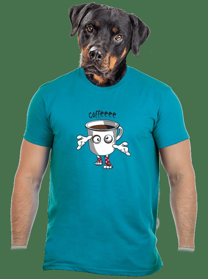 Zombie kafe pánske tričko