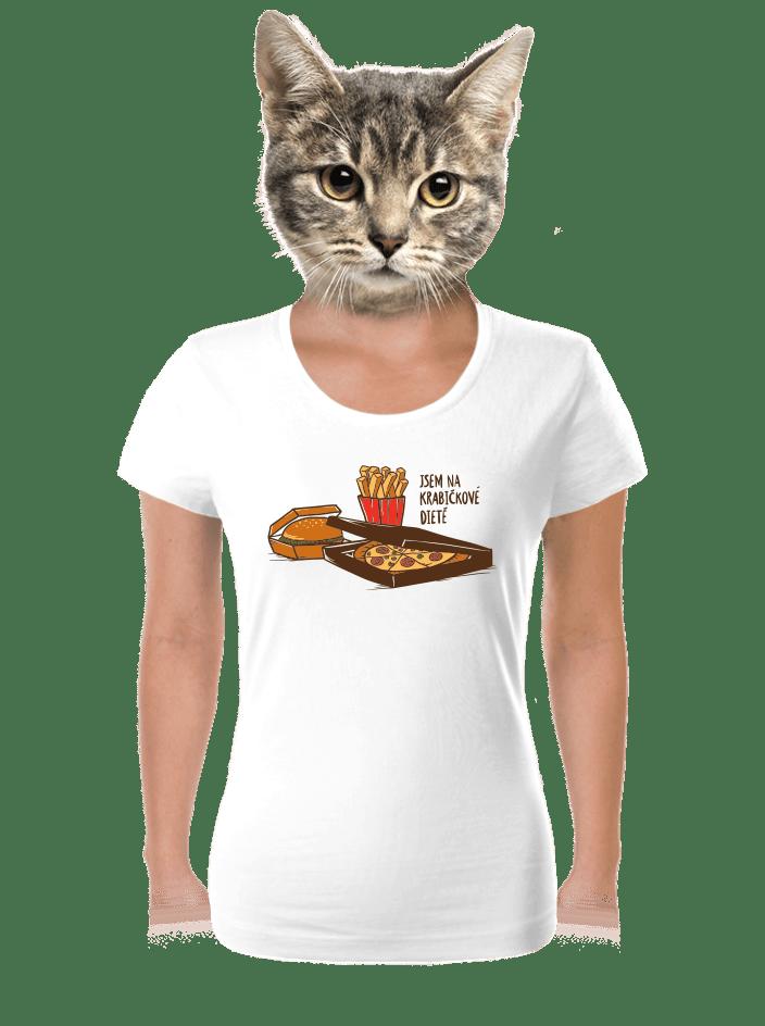 Krabičková dieta dámske tričko