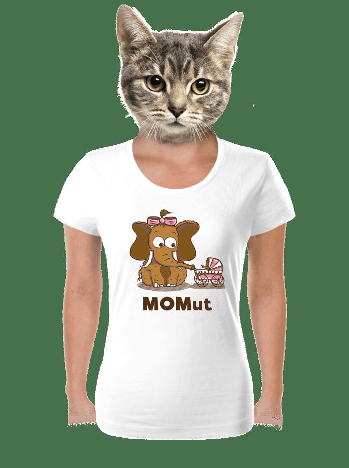 Momut biele dámske tričko