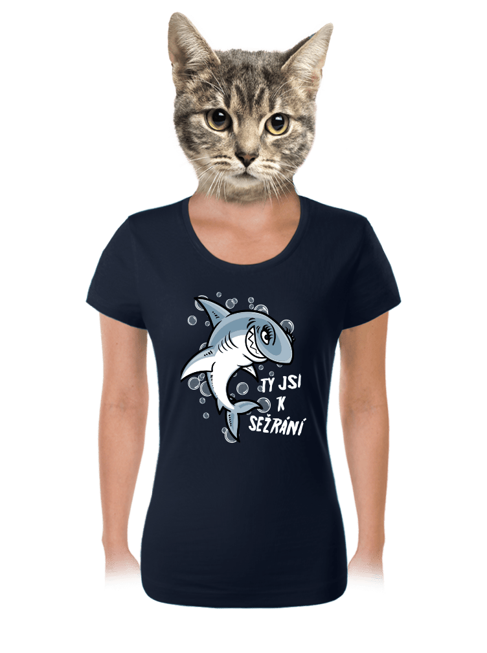 Žraločica dámske tričko