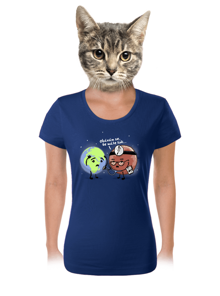 Diagnóza dámske tričko