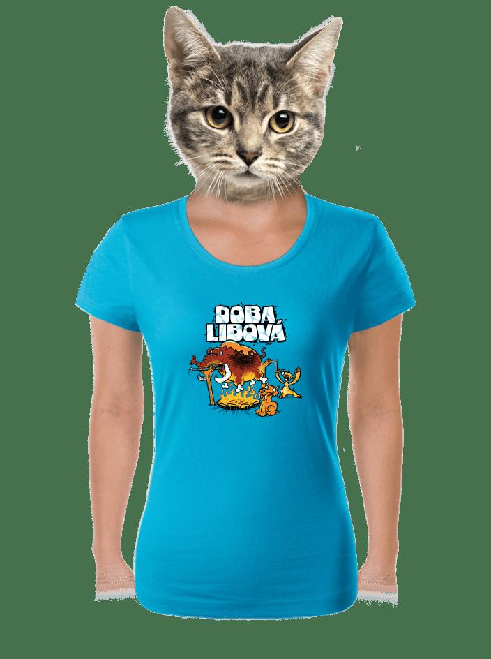 Doba libová dámske tričko