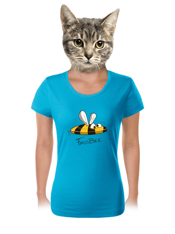 Frisbee dámske tričko